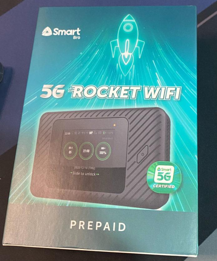5G Rocket WiFi