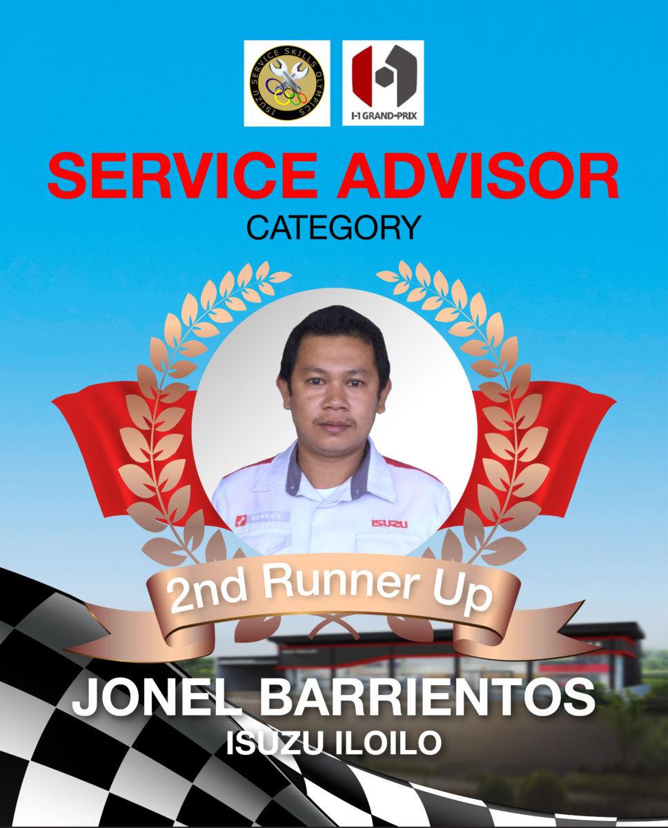 Isuzu Service Award