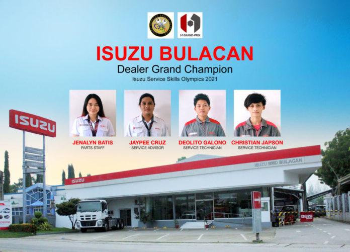 Isuzu Service Skills Olympics
