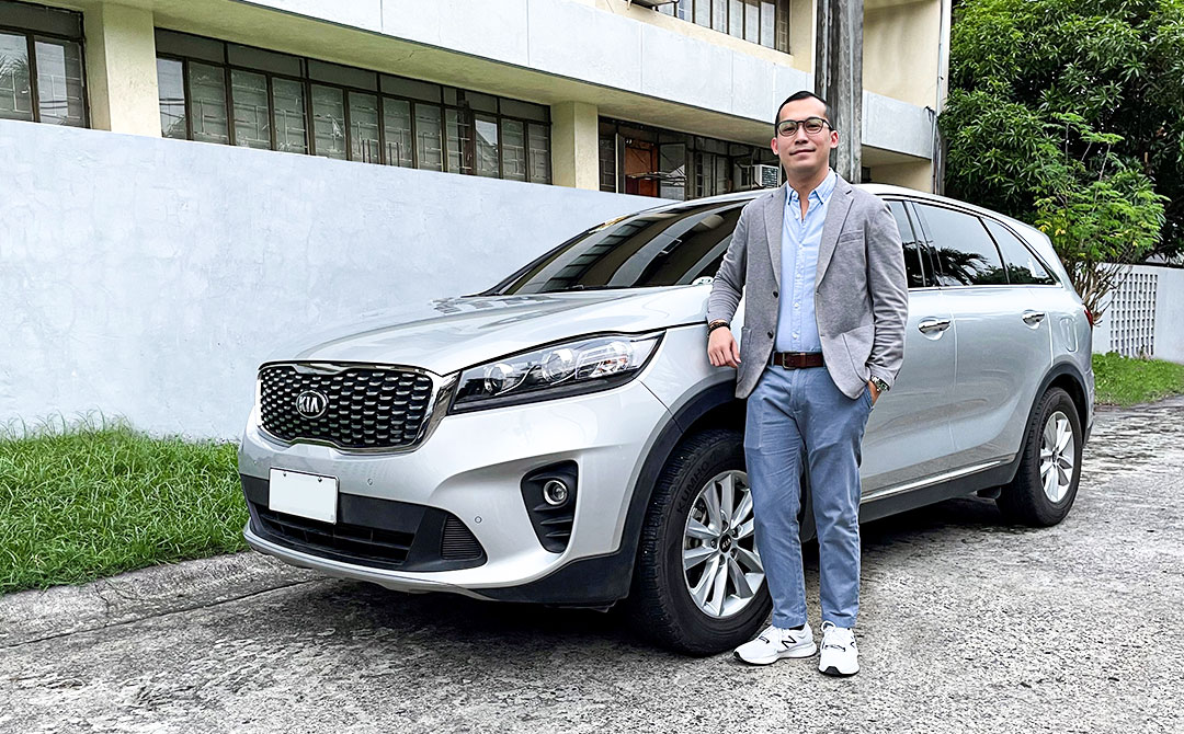 Successful Professional and Sorento Owner gives Kia his seal of approval